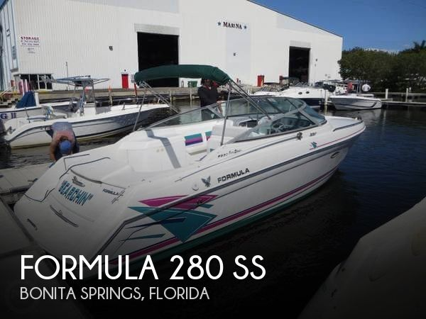 1996 Formula boat for sale, model of the boat is 280 SS & Image # 1 of 40