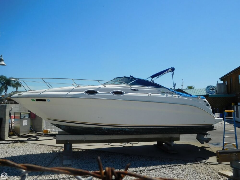 2002 Sea Ray boat for sale, model of the boat is 260 Sundancer & Image # 8 of 40