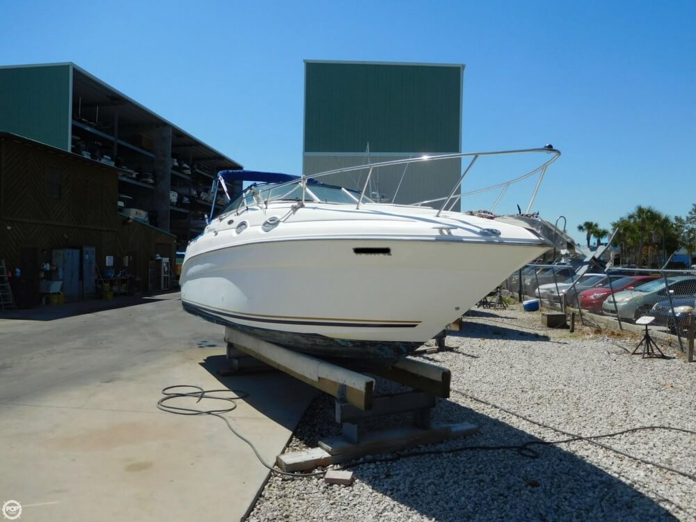 2002 Sea Ray boat for sale, model of the boat is 260 Sundancer & Image # 10 of 40