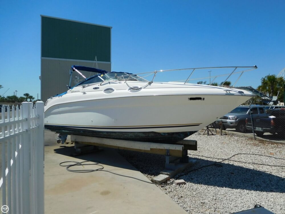 2002 Sea Ray boat for sale, model of the boat is 260 Sundancer & Image # 11 of 40