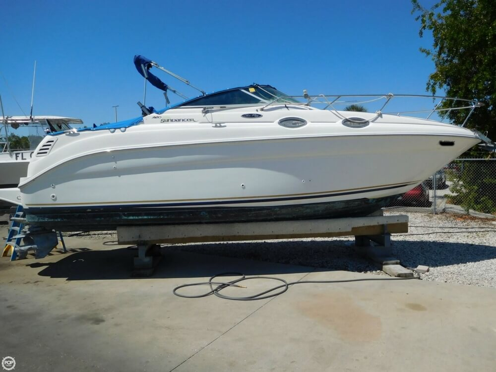 2002 Sea Ray boat for sale, model of the boat is 260 Sundancer & Image # 12 of 40