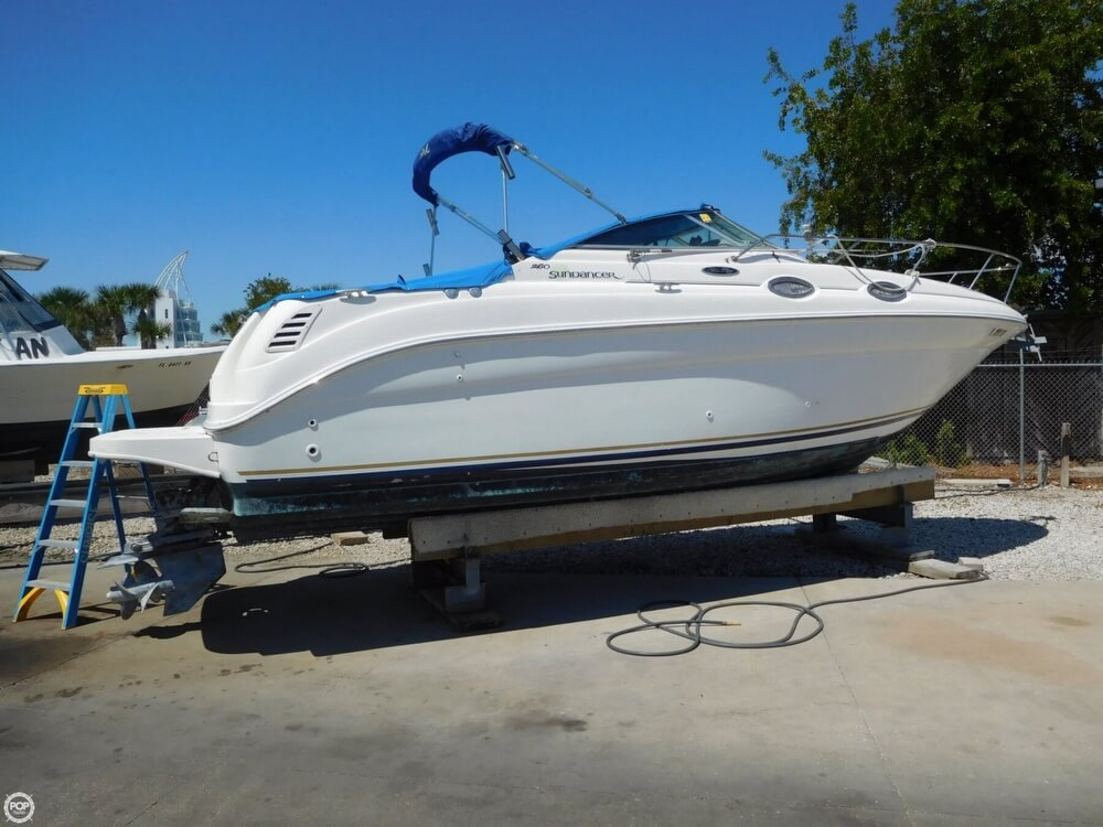 2002 Sea Ray boat for sale, model of the boat is 260 Sundancer & Image # 6 of 40