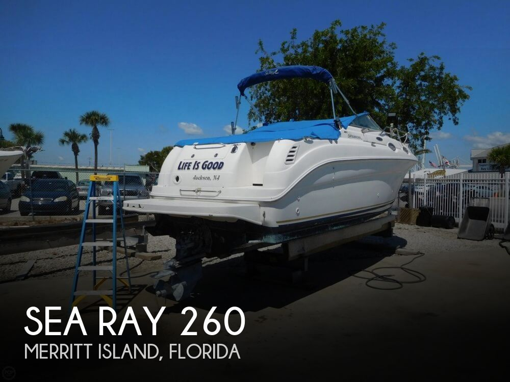 2002 Sea Ray boat for sale, model of the boat is 260 Sundancer & Image # 1 of 40