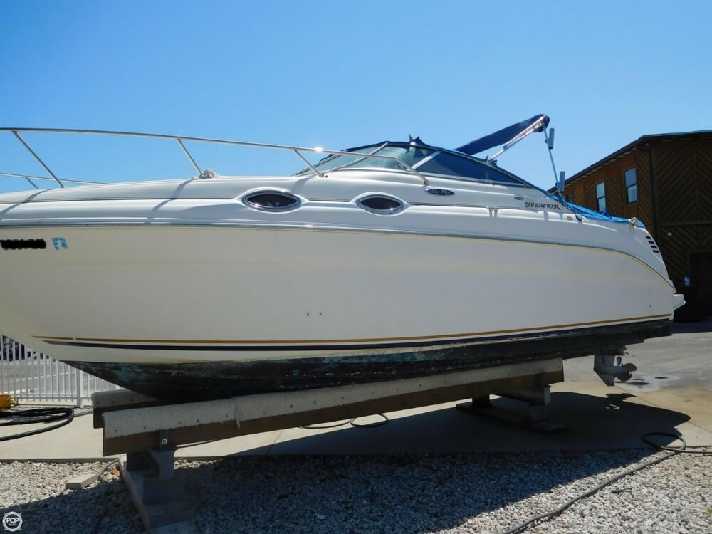 2002 Sea Ray boat for sale, model of the boat is 260 Sundancer & Image # 15 of 40
