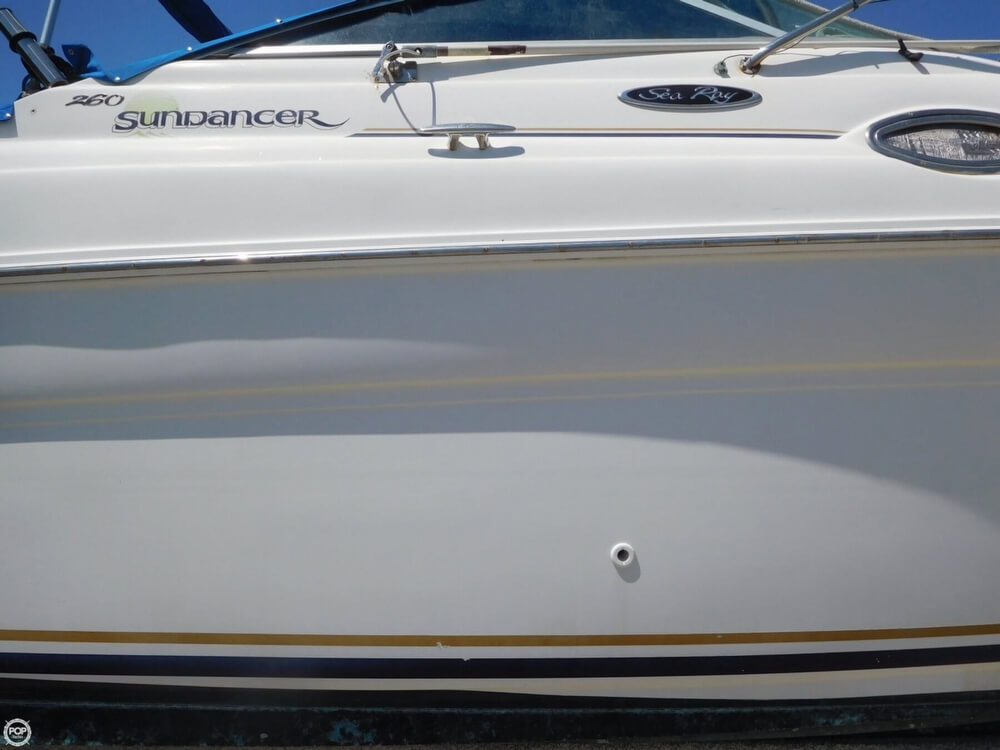 2002 Sea Ray boat for sale, model of the boat is 260 Sundancer & Image # 20 of 40