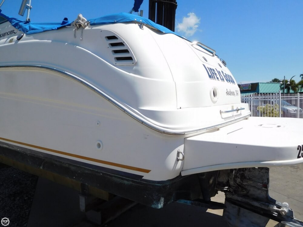 2002 Sea Ray boat for sale, model of the boat is 260 Sundancer & Image # 23 of 40
