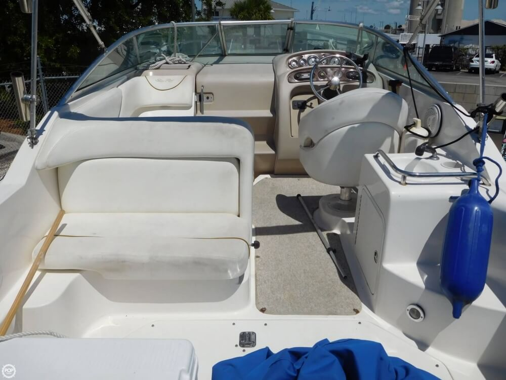 2002 Sea Ray boat for sale, model of the boat is 260 Sundancer & Image # 2 of 40