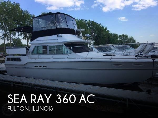 Used Boats For Sale in Davenport, Iowa by owner | 1986 Sea Ray 40