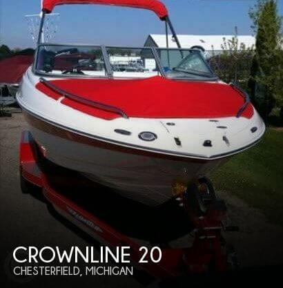 Used Crownline Boats For Sale in Flint, Michigan by owner | 2011 Crownline 20