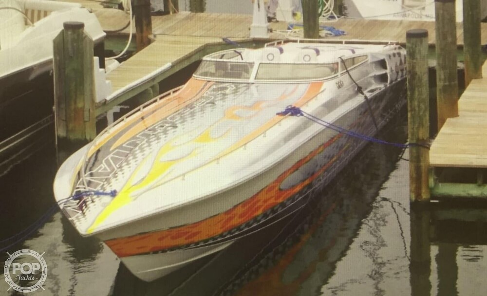 2006 Fountain boat for sale, model of the boat is 47 Lightning & Image # 9 of 41