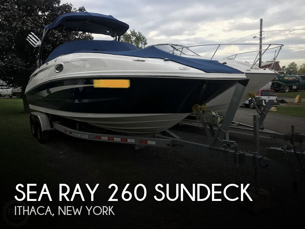 Used Boats For Sale in Binghamton, New York by owner | 2012 Sea Ray 260 SunDeck