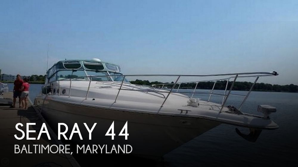 Used Sea Ray Boats For Sale in Maryland by owner | 1995 Sea Ray 44