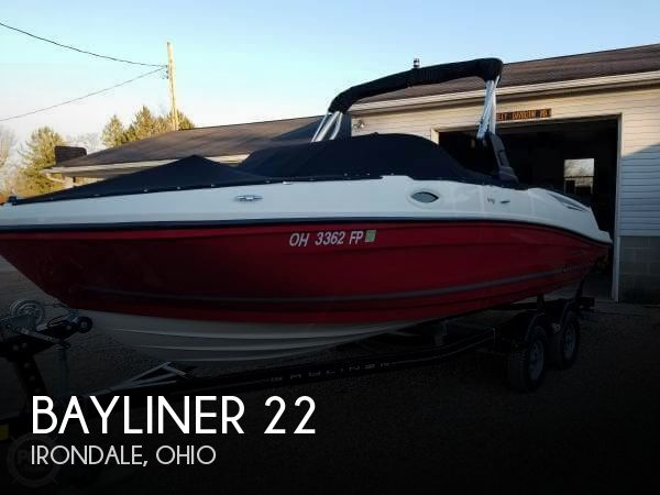 Used Bayliner Boats For Sale in Ohio by owner | 2016 Bayliner 22