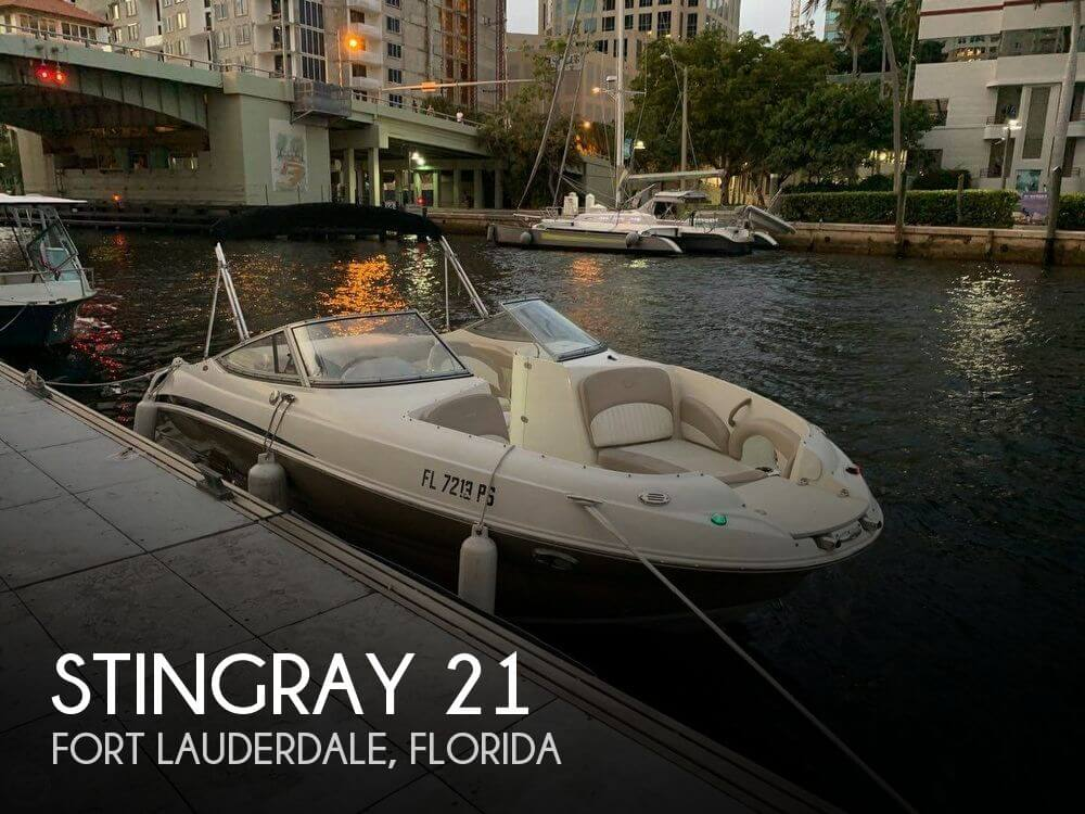 Used Stingray Ski Boats For Sale by owner | 2014 Stingray 21