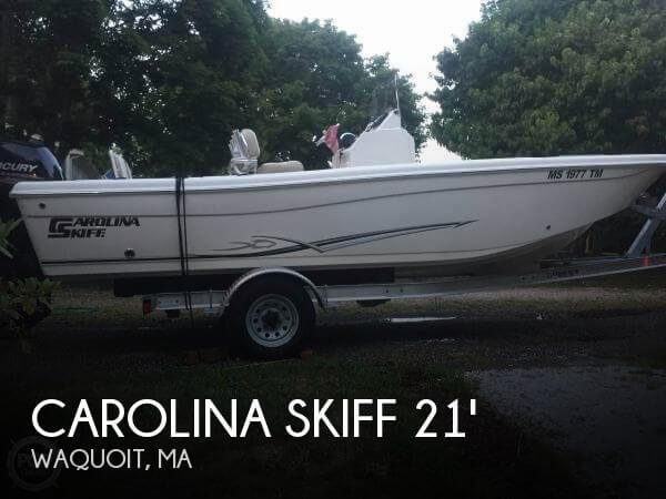 Used Carolina Skiff Boats For Sale by owner | 2015 Carolina Skiff 21