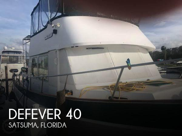 Used Defever Boats For Sale by owner   1973 Defever 40