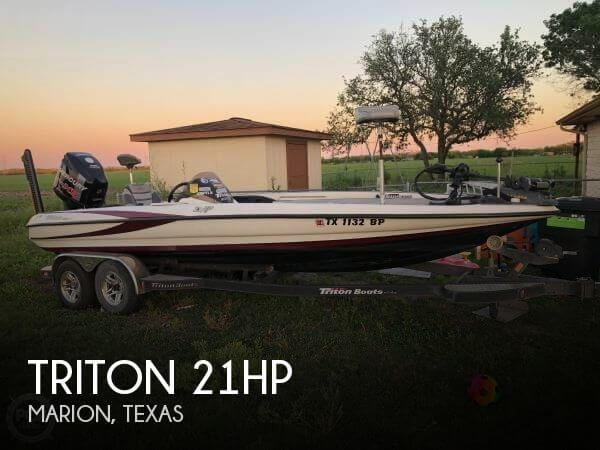 Used Triton  Boats For Sale by owner | 2011 Triton 21