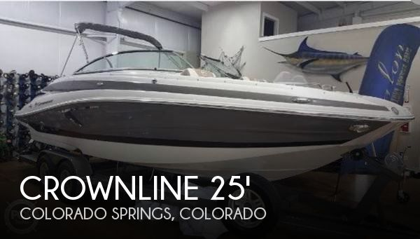 Used Boats For Sale in Colorado by owner | 2018 Crownline 25
