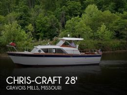 1962 Chris-Craft Constellation 28