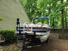 2015 Tracker 20 DLX Fishin Barge - #1