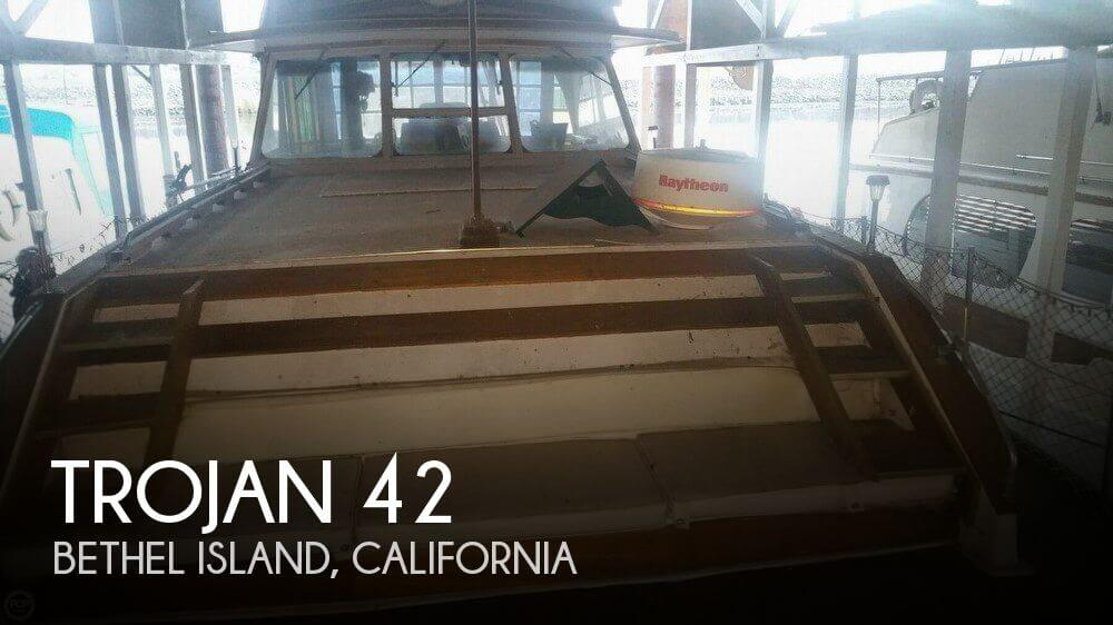 Used Motoryachts For Sale in California by owner | 1972 Trojan 42