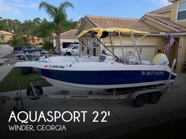 Used Aquasport Boats For Sale by owner   2001 Aquasport 22