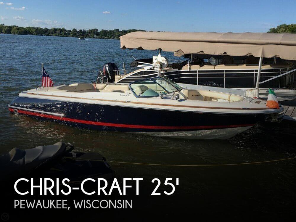 Used Boats For Sale in Milwaukee, Wisconsin by owner | 2006 Chris-Craft 25