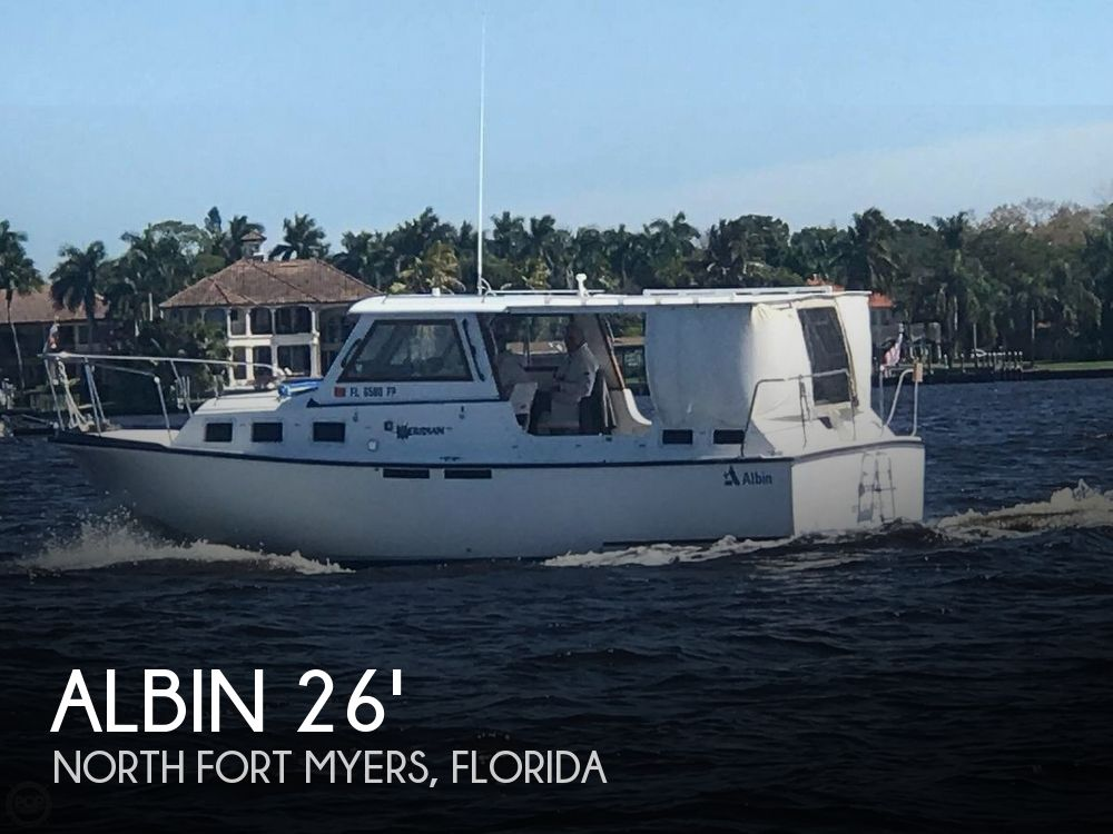 Used Albin Boats For Sale by owner | 1986 27 foot Albin Family Cruiser