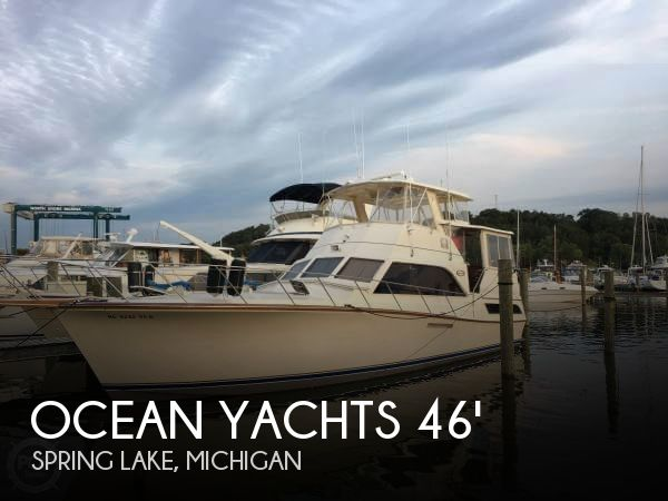 Used Boats For Sale in Kalamazoo, Michigan by owner | 1985 Ocean Yachts 46