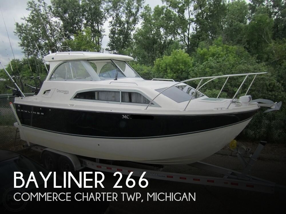 2012 Bayliner boat for sale, model of the boat is 266 Discovery & Image # 1 of 40