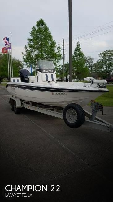 Used Champion Boats For Sale by owner | 2004 Champion 22