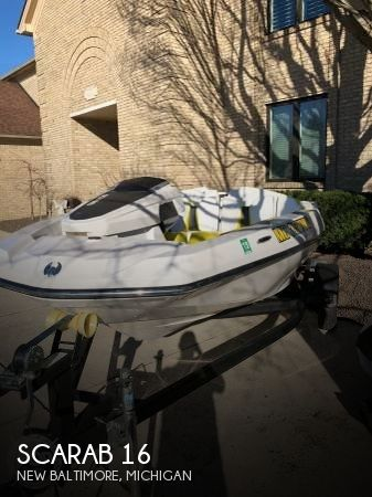 Used Scarab Boats For Sale in Michigan by owner | 2016 Scarab 16