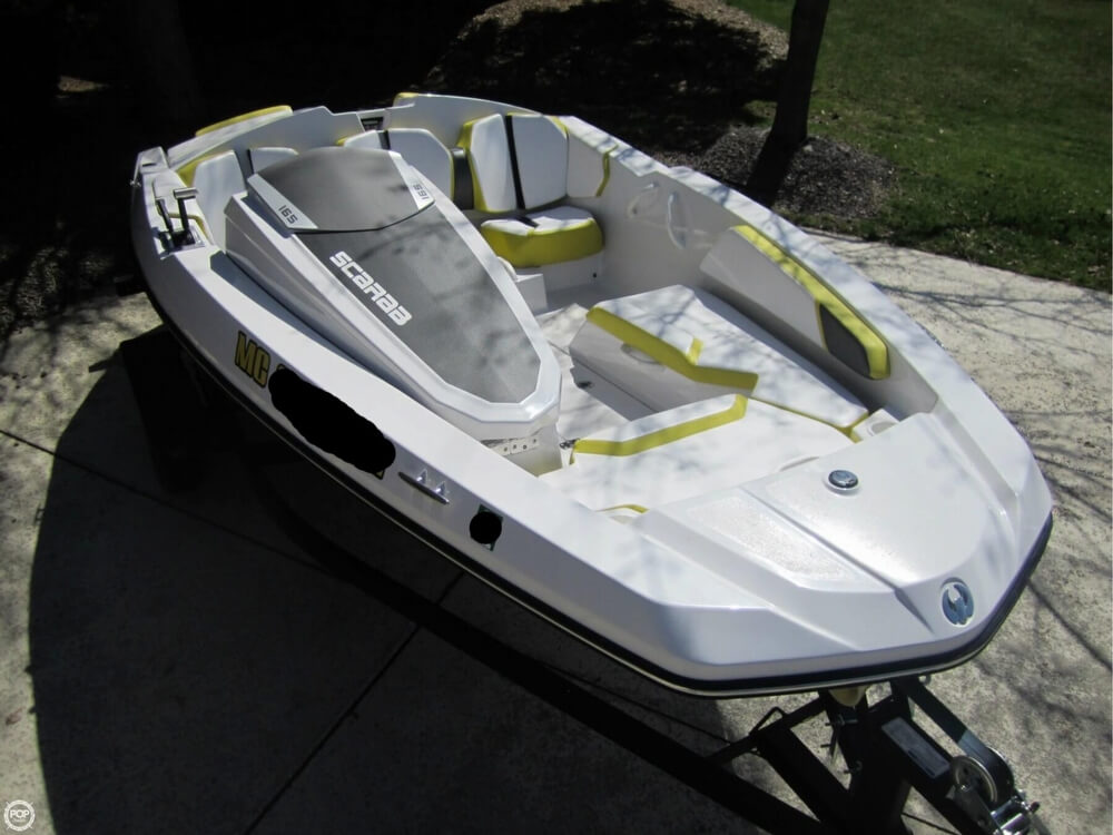 2016 Scarab boat for sale, model of the boat is 165 & Image # 21 of 40