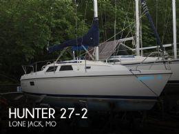 1992 Hunter 27-2