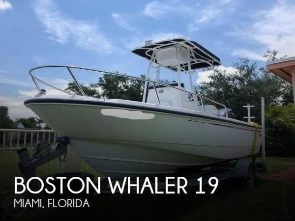 Used Boston Whaler 19 Boats For Sale by owner | 2003 Boston Whaler 19