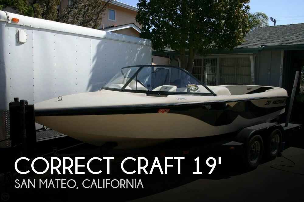 Used Boats For Sale in California by owner | 2000 Correct Craft 19