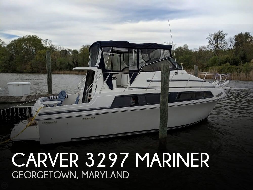 Used Carver 32 Boats For Sale by owner | 1988 Carver 32