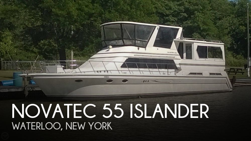Used Boats For Sale in Syracuse, New York by owner | 1993 Novatec 55