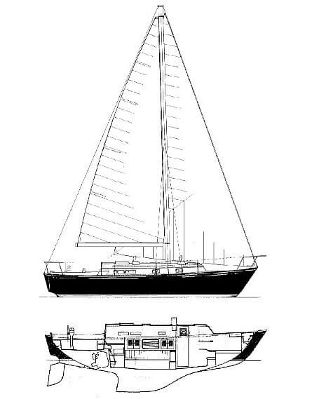 1978 Ontario Yachts boat for sale, model of the boat is 32 & Image # 17 of 18