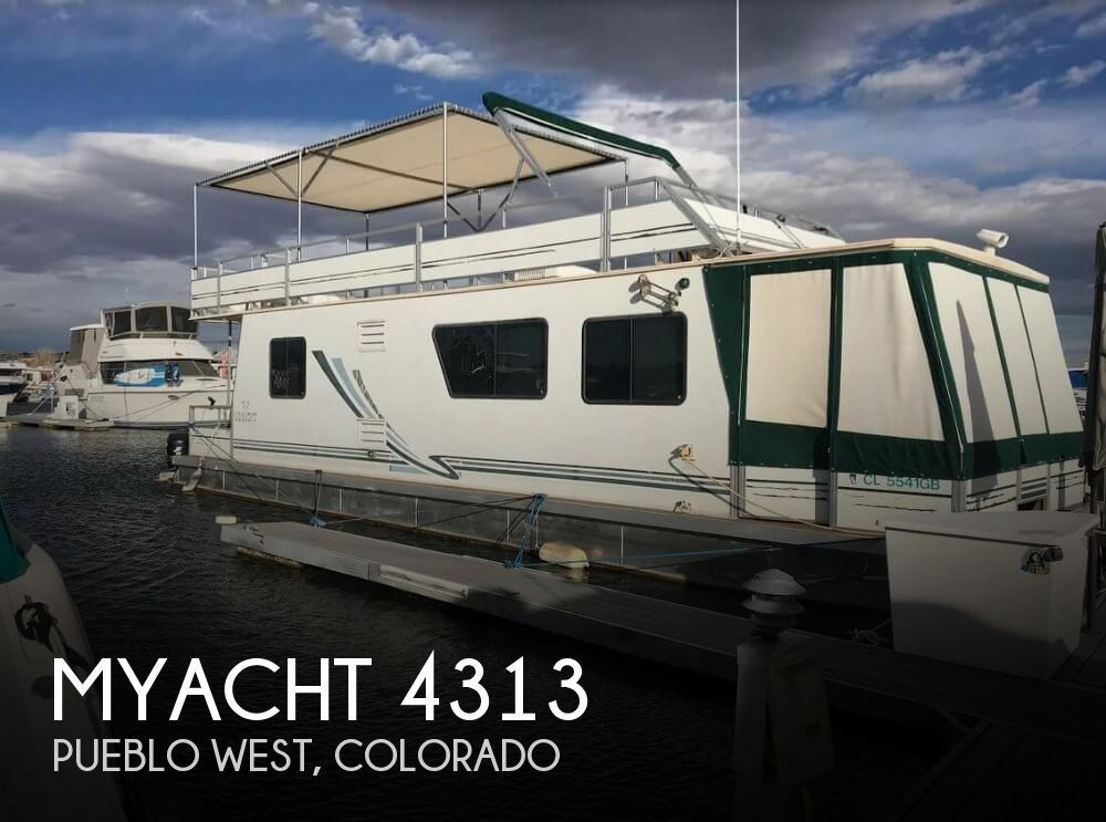 Used Houseboats For Sale in Colorado by owner | 2005 Myacht 43