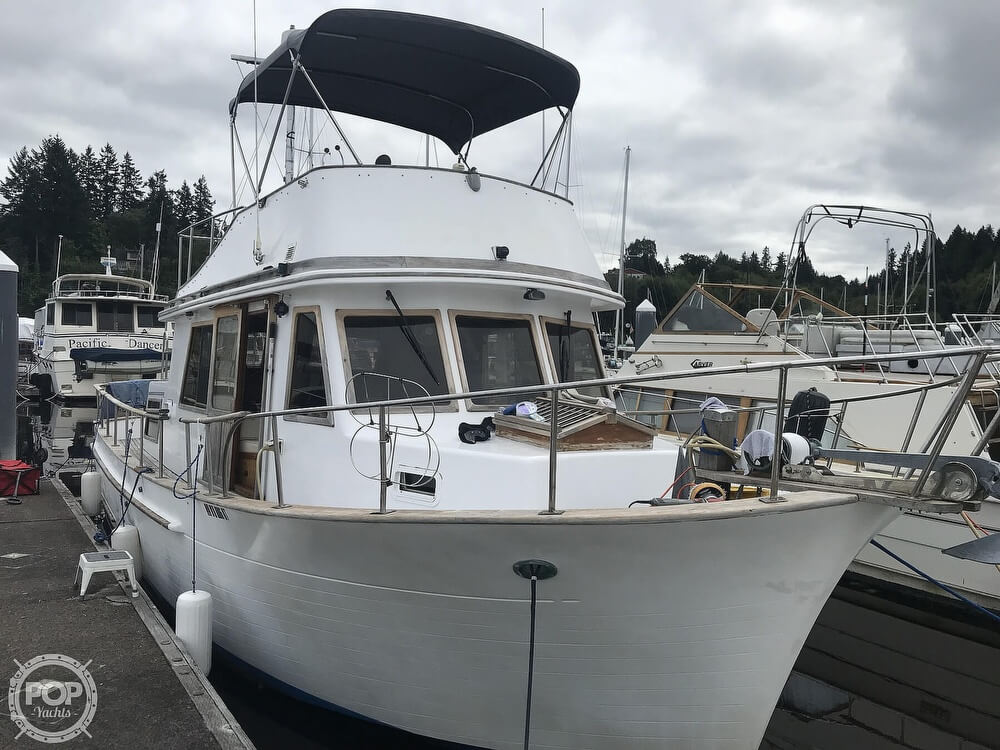 1981 CHB 34 Double Cabin For Sale Mainship Double Cabin Boat Wiring Schematics on