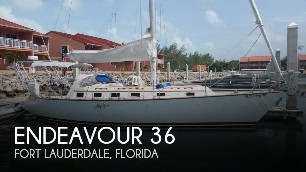 Used Endeavour Boats For Sale by owner | 1983 Endeavour 36