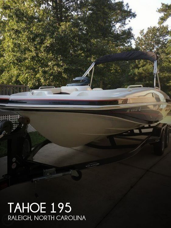 Used Deck Boats For Sale in North Carolina by owner | 2014 Tahoe 195