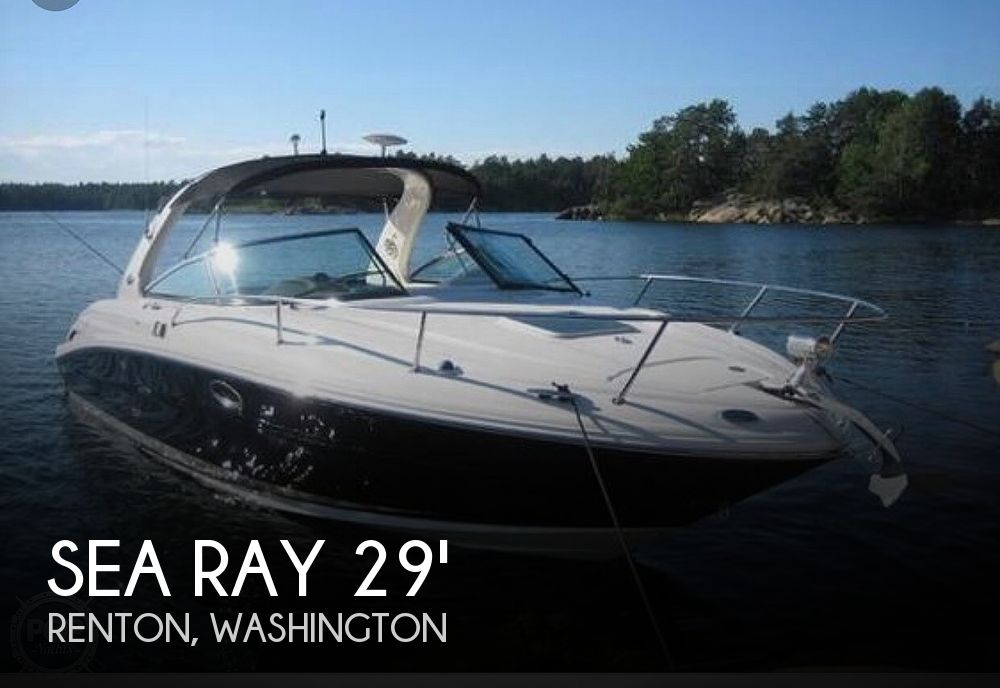 Used Sea Ray 29 Boats For Sale by owner | 2006 Sea Ray 29