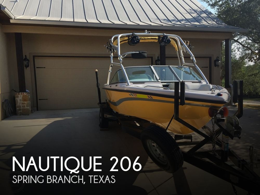 2005 Nautique boat for sale, model of the boat is 206 Air Limited by Correct Craft & Image # 1 of 40