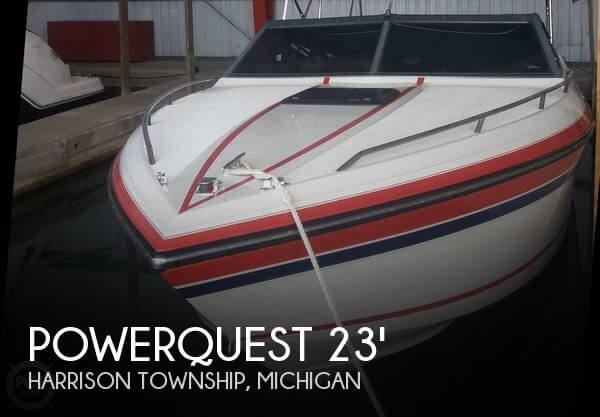 Used Powerquest Boats For Sale by owner | 1991 Powerquest 23
