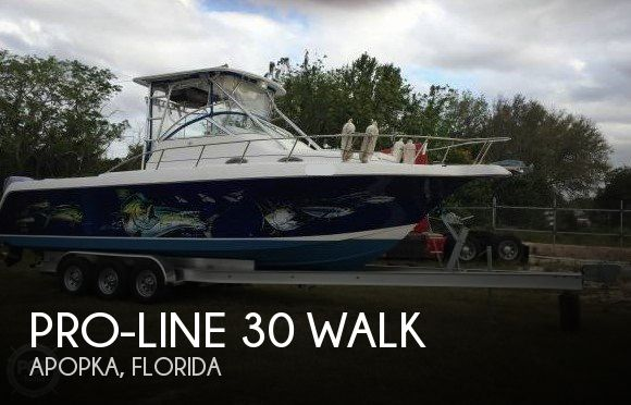 Used Pro-Line Boats For Sale in Florida by owner | 2000 Pro-Line 30