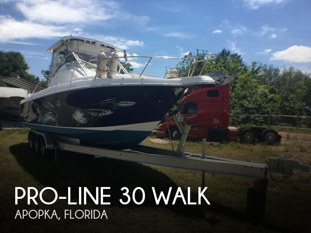 2000 Pro-Line boat for sale, model of the boat is 30 Walk & Image # 1 of 40