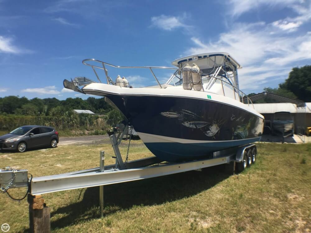 2000 Pro-Line boat for sale, model of the boat is 30 Walk & Image # 14 of 40