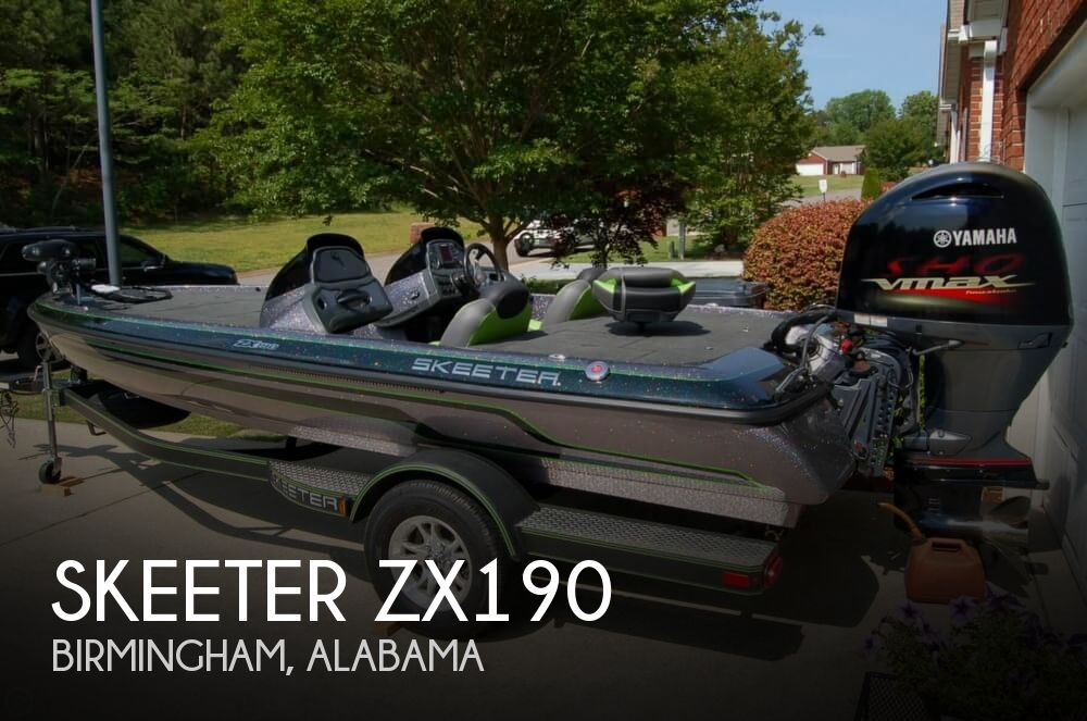 2018 Skeeter boat for sale, model of the boat is ZX190 & Image # 1 of 40